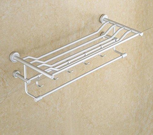 Handtuchstange/Handtuch Handtuchhalter Handtuchhalter doppelt mit Haken Regale Wandmontage Regale -