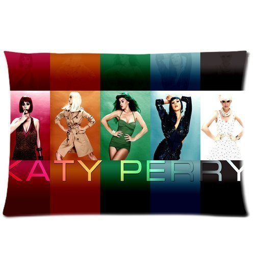 Katy Perry Custom Pillowcase Rectangle Pillow Cases 20x36 (Two sides) My Favorite Star