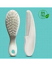 LuvLap Elegant Baby Comb Brush Set