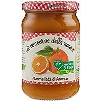 Le Conserve della Nonna Marmellata di Arance senza Pectina Aggiunta e con Zucchero di Canna; marmellata di Arance - 350 gr - [confezione da 4]