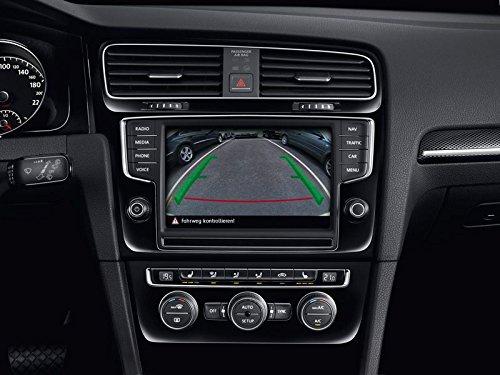 Rückfahrkamerasystem Original VW Golf 7 Nachrüstsatz Kamera Media, Park Distanz Kontrolle