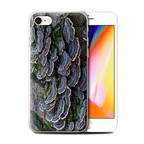 Stuff4 Hülle / Case für Apple iPhone 8 / Gras / Rasen Muster / Pflanzen/Blätter Kollektion Fungus