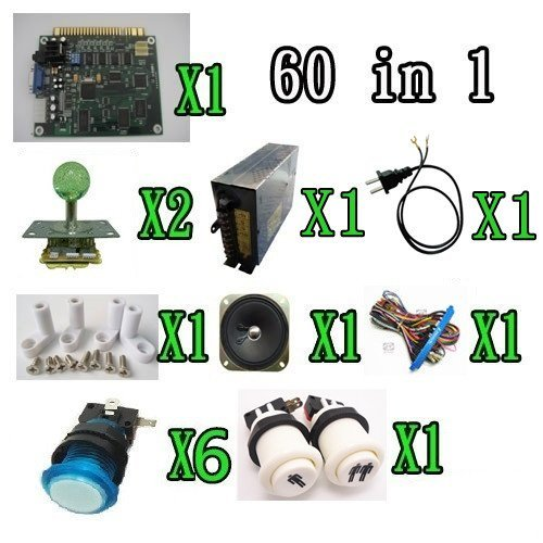 1-kit-classical-arcade-game-60-in-1-power-supply-speaker-lighted-joystick-lighted-button-1p2p-button