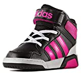 adidas BB9tis Inf deportivaspara Kinder, schwarz–(Negbas/Rosimp/Ftwbla), 27