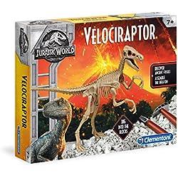 Clementoni archéo Ludic Jurassic World–Velociraptor, 19063, multicolor