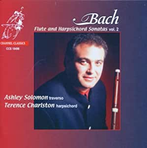 Bach: Flute and Harpsichord Sonatas, Vol. 2
