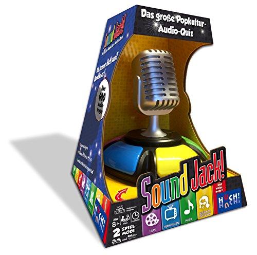 Hutter Trade 061829 Sound Jack! akustisches Quiz-Spiel, Mehrfarbig (Spiel Musik)