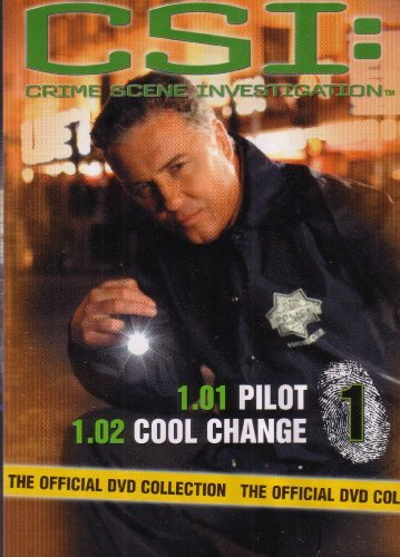 Bild von CSI Crime Scene Investigation - Official DVD Collection - Pilot & Cool Change