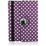 9.7 Zoll Hülle Tasche für iPad Pro, elecfan® iPad Pro 9.7 360 drehende Smart Hülle PU Leder Abdeckung Gehäusedeckel für iPad Pro 9.7
