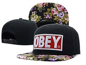 Obey Snapback Cap Hat snake black Last Kings Lil Wayne SSUR von Design&Style