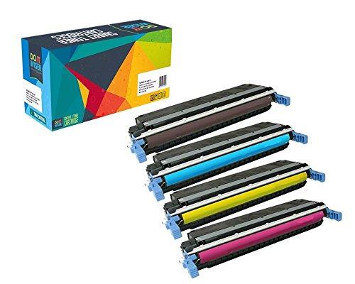 Do it Wiser ® 4 Kompatible Toner CE400A für HP 507 Laserjet Enterprise 500 Color M551 M551n M551dn M551xh MFP M570 M570dn M570dw M575 M575c M575f M575dn | CE400X CE401A CE402A CE403A (Hp Laserjet Enterprise 500 M551xh)