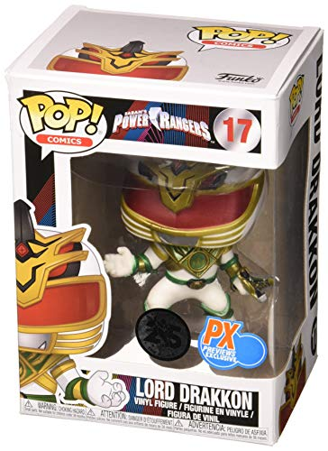 power rangers funko pop lord drakkon 17 vinyl figure (anteprima esclusiva px)