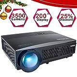 Best Projecteurs Hd Home Cinéma Multimédia Lcd Led - Vidéoprojecteur HD, WiMiUS Vidéo Projecteur LCD 3500 Lumens Review