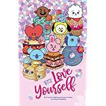 YES SKETCH, BTS Love Yourself: Blank Notebook for Sketching, Drawing, Doodling, Journaling and Notetaking, with 방탄소년단 BT21 cover for ARMY