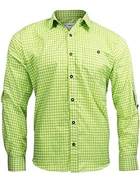 Alpenmode Trachtenhemd für Herren Vers.gr. S-XL/Hemd Oktoberfest Freizeit Lederhosen