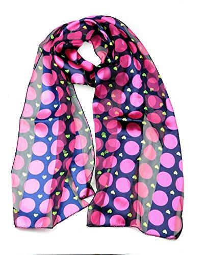 Foulard versatile en mousseline à divers motifs. Produit offert par NYfashion101 4368 NV/FU