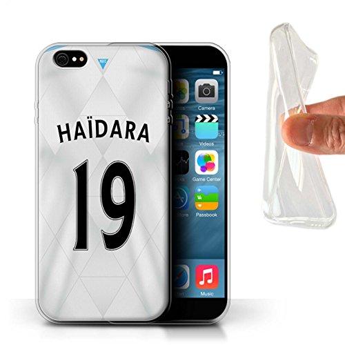 Offiziell Newcastle United FC Hülle / Gel TPU Case für Apple iPhone 6S+/Plus / Pack 29pcs Muster / NUFC Trikot Away 15/16 Kollektion Haïdara