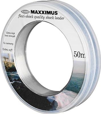 Fladen Maxximus Flexi Leader & Shock Fishing Line 50m