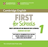 Cambridge English First 1 for Schools for Revised Exam from 2015 Audio CDs (2) (FCE Practice Tests)