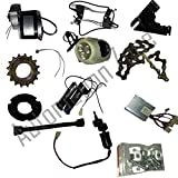 #9: Automation Zone My1016Z2 24V 250W Motor Electric Bicycle Kit / Diy Ebicycle Kit (Silver)