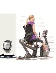 Horizon Fitness R4000 Liegeergometer - Ergometer inkl. FT1 Polar Pulsuhr und Brustgurt