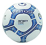 uhlsport Infinity Synergy Motion 3.0 Balle Football Mixte Adulte, Blanc/Marine/Royal, 5