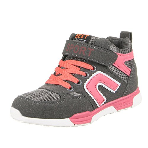 K pour enfants, chaussures de loisir à 5 Gris - Grau (25-30)
