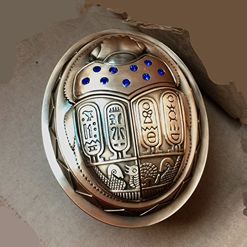 e5b15da77a1 NAUY- Retro Egyptian Creative Personality Seal With Metal Beetle  Fashionable Ashtray Decoration Home Furnishings Gifts