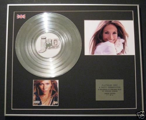 Jennifer Lopez – Ltd Edtn CD Platinum Disc + Foto – J Lo