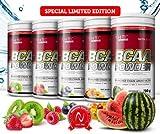 HI-TEC BCAA Powder - 700 g - Strawberry Kiwi