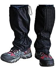 Pawaca Gilet Imperméable à L'eau à L'extérieur Respirant Durable Legging Neige Double Scellé Tissu de Fixation Séparable Zippered Fermeture pour Randonnée Pédestre Escalade Chasse