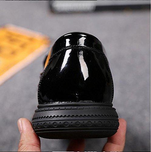 WTUS Docksides, Loisirs Respirante Chaussures Bateau Homme Noir