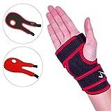 JUEYAN 2X Handbandage Handgelenk Bandage mit Klettverschluss Handgelenkschiene Gelenk Stütze Sport Bandage