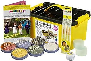 Snazaroo, Pintura facial y corporal, mini kit para principiantes, 14 piezas, colores surtidos (B000Y17NNM)   Amazon Products