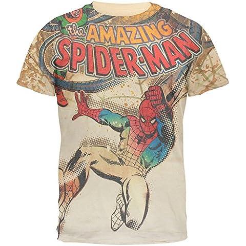 Spiderman -  Felpa con cappuccio  - Uomo