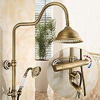 BL@ Set doccia smart europeo ascensore antico rame rubinetto doccia