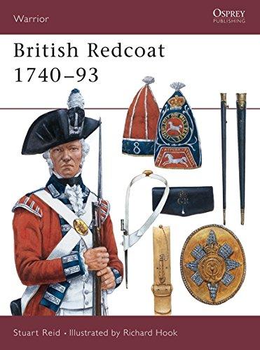 British Redcoat 1740-93 (Warrior, Band 19)