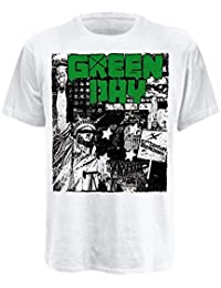 Universal Music Shirts Green Day - State Of Liberty 0917834 Unisex - Erwachsene Shirts/T-Shirts