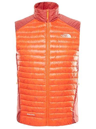 North Face M Verto premio Vest-Gilet da uomo MULTICOLORE Naranja / Rojo XL
