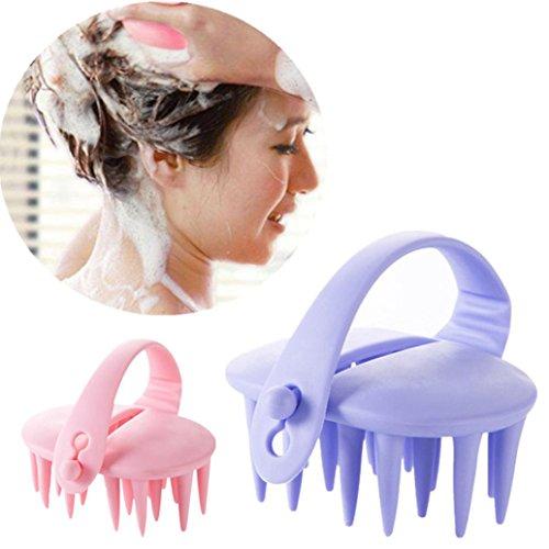 Gaddrt Haarshampoo Kopfhautbürste Körpermassage Bürste Kamm Conditioner Clean Head Care -