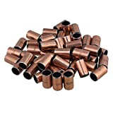 Yibuy - 50 cojinetes de cobre SF-1 10 mm x 12 mm x 20 mm