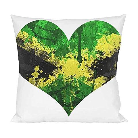Love Jamaica Pillow