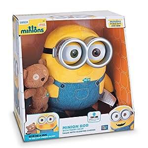 Despicable Me 2 Minions Bob With Teddy Bear - Multi Color