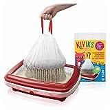 Kiviks Sacs à Litière Filtrants Superposés Biodégradables - Taille Medium x6