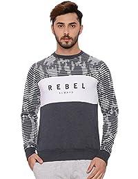Proline Mens Navy Marl Sweat Shirt(PA13556NBML)