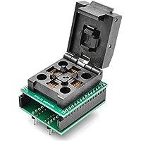 allsocket QFP32–0,8QFP32TQFP32QFP32a DIP32Adaptador de programación otq-32–0.8–020,8mm de paso 7x 7mm IC adaptador de soldadura versión de concha de dimensión (QFP32–0.8-acl)