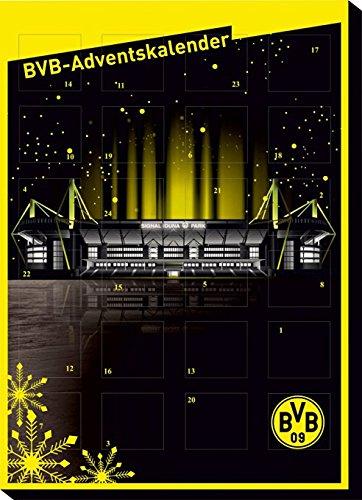 Preisvergleich Produktbild Borussia Dortmund - BVB 09 Adventskalender, Weihnachtskalender gefüllt mit Edel Schokolade