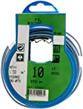 Profiplast PRP500023 - Bobina de cable (H07V-U, 1,5 mm² x 10 m), color azul