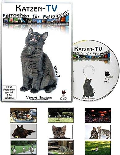 Preisvergleich Produktbild Katzen-TV - Fernsehen für Fellnasen - Vol. 1 - Der ultimative Katzenspaß! Das Geschenk für Katzen - Video für Katzen