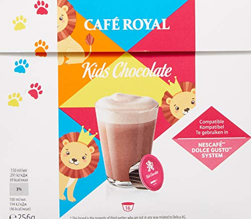 Café Royal Chocolate, 64 kompatible Kapseln für Nescafé Dolce Gusto, 4er Pack (4 x 16 Kapseln) - 5